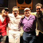 """""""VOLCÁN"""" <br />featuring  GONZALO RUBALCABA,  GIOVANNI HIDALGO,  <br />HORACIO """"EL NEGRO"""" HERNANDEZ  & ARMANDO GOLA"""