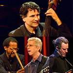 "JOHN PATITUCCI <br />""THE ELECTRIC GUITAR QUARTET"" <br />featuring ADAM ROGERS, <br />STEVE CARDENAS & BRIAN BLADE"