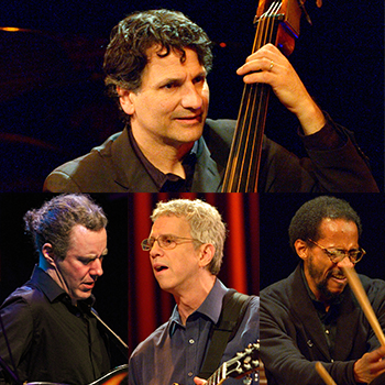 "JOHN PATITUCCI ""THE ELECTRIC GUITAR QUARTET"" <br />featuring ADAM ROGERS, STEVE CARDENAS & BRIAN BLADE"