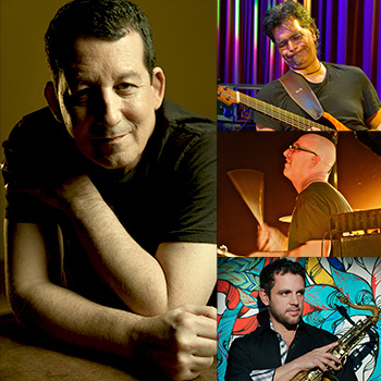 JEFF LORBER FUSION <br />with JIMMY HASLIP, GARY NOVAK & ANDY SNITZER