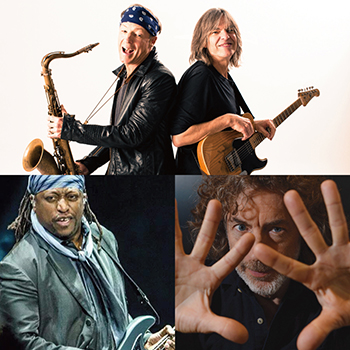 MIKE STERN / BILL EVANS BAND <br />featuring DARRYL JONES & SIMON PHILLIPS