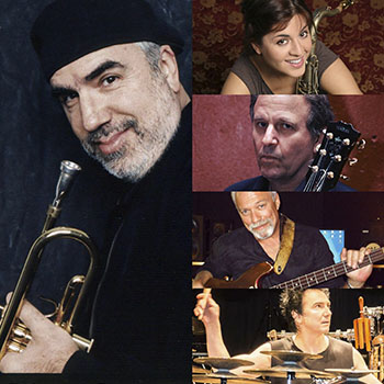 THE BRECKER BROTHERS BAND featuring <br />RANDY BRECKER, ADA ROVATTI, <br />BARRY FINNERTY, NEIL JASON & TERRY BOZZIO