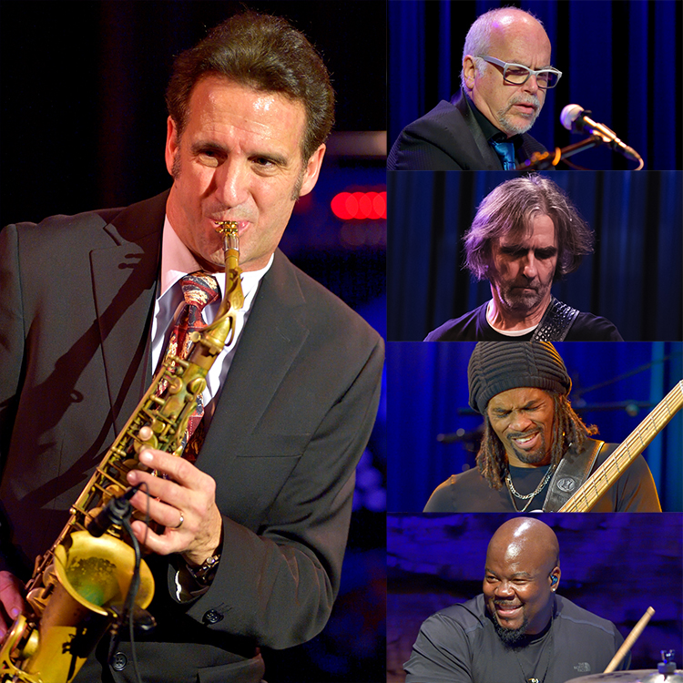 ERIC MARIENTHAL SUPER BAND with MITCHEL FORMAN, DEAN BROWN, ANDRE BERRY & CHRIS COLEMAN