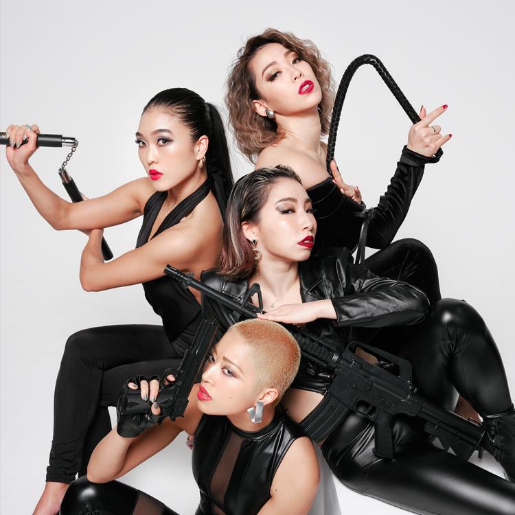 『SPY 4U』Anri×BETTY×Rikako×NanaCo <br />Luxurious Dance Entertainment Show