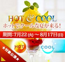 HOT & COOL (2014.7/22-8/17)