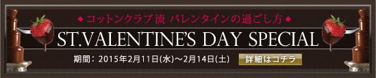 バレンタインスペシャル企画