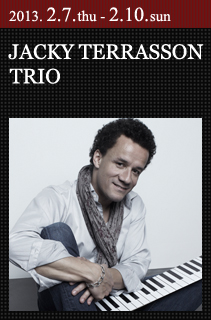 JACKY TERRASSON TRIO|ジャッキ...